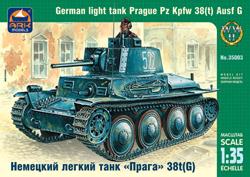 Сборная модель Немецкий легкий танк «Прага» 38t(G)