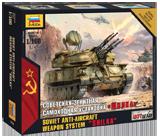 Советская зенитная САУ
