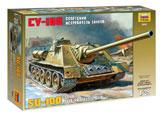 Модель СУ-100 Советский истребиель танков