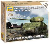 Американский танк М4А2 -