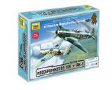 Сборная модель Мессершмитт BF-109 против Як-3