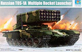 Model Kit TOS-1A Multiple Rocket Launcher