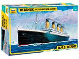 Сборная модель Пассажирский лайнер Титаник
