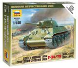 Советский средний танк Т-34/76 (обр. 1940)