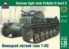 Сборная модель Немецкий лёгкий танк Т-II C