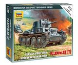 Немецкий легкий танк PZ.KPFW.38 (T)