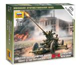 Советское 37-мм орудие 61-К с расчётом