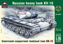 Сборная модель Советский скоростной тяжёлый танк КВ-1С