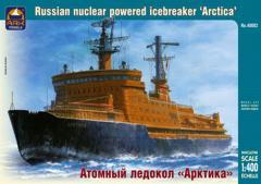Сборная модель Советский атомный ледокол «Арктика»