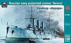 Сборная модель Крейсер «Аврора»