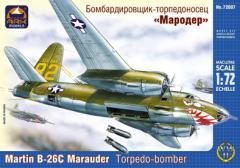 Сборная модель Средний бомбардировщик-торпедоносец Мародёр