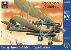 Сборная модель Торпедоносец «Свордфиш»