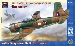 Сборная модель Пикирующий бомбардировщик «Венженс»