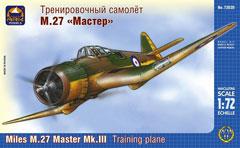 Сборная модель Тренировочный самолёт М.27 «Мастер»