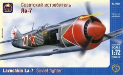 Сборная модель Советский истребитель Ла-7
