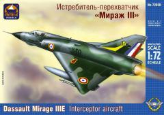 Истребитель-перехватчик «Мираж III»