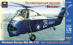 Сборная модель Противолодочный вертолёт «Вессекс»