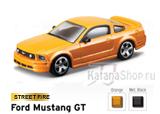 Модель Ford Mustang GT (2006) (чёрный)