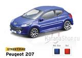 Модель Peugeot 207 (красный)
