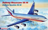 Сборная модель Российский дальне-магистральный авиалайнер Ил-96 М