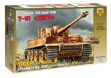 Сборная модель Немецкий тяжелый танк «Тигр»