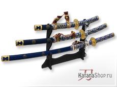 Катана, вакидзаси, танто синии