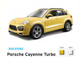 Модель 1:24 A/M Star Porsche Cayenne Turbo /Жёдтый/